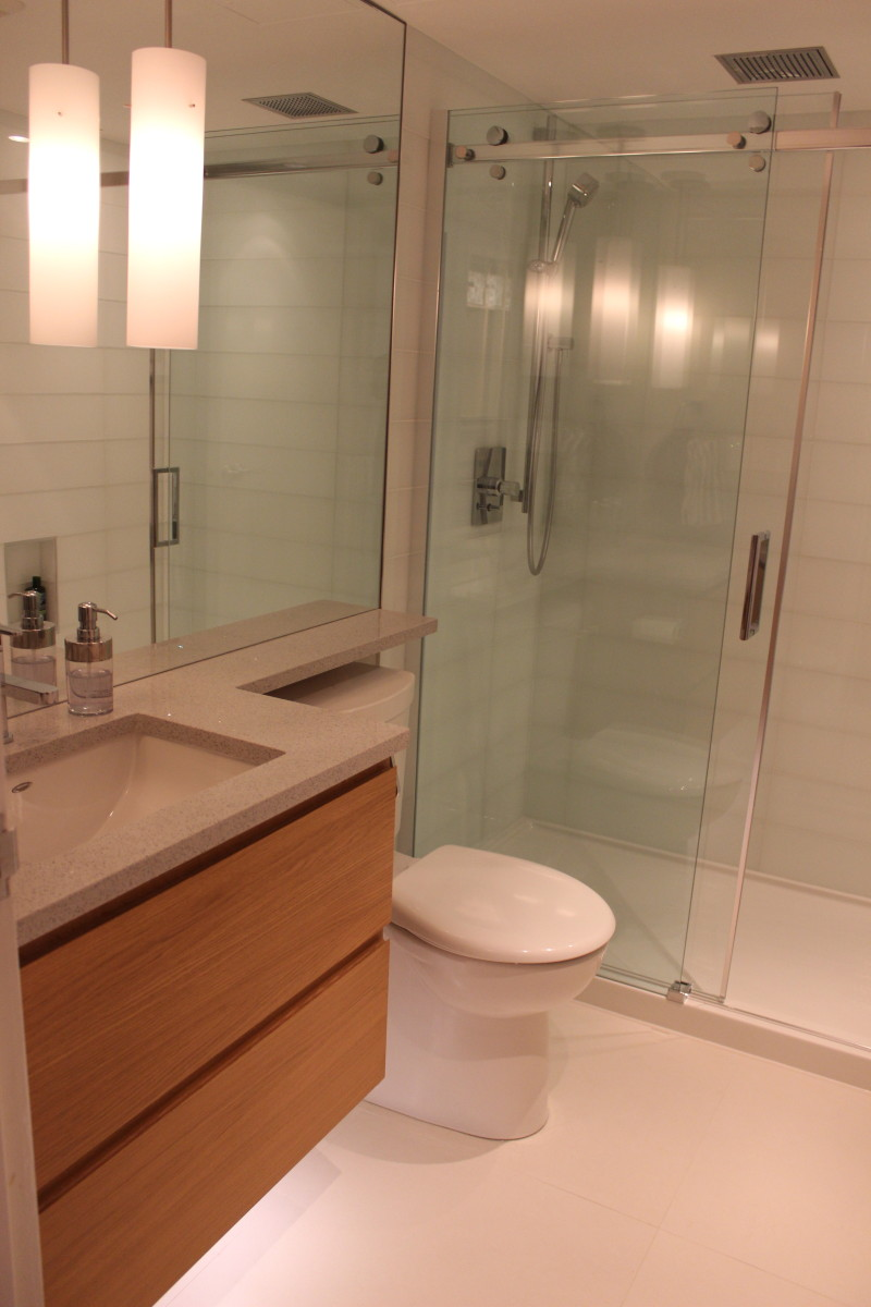 Condo Bathroom Renovation Modern Beautiful And Compact Skg Renovations