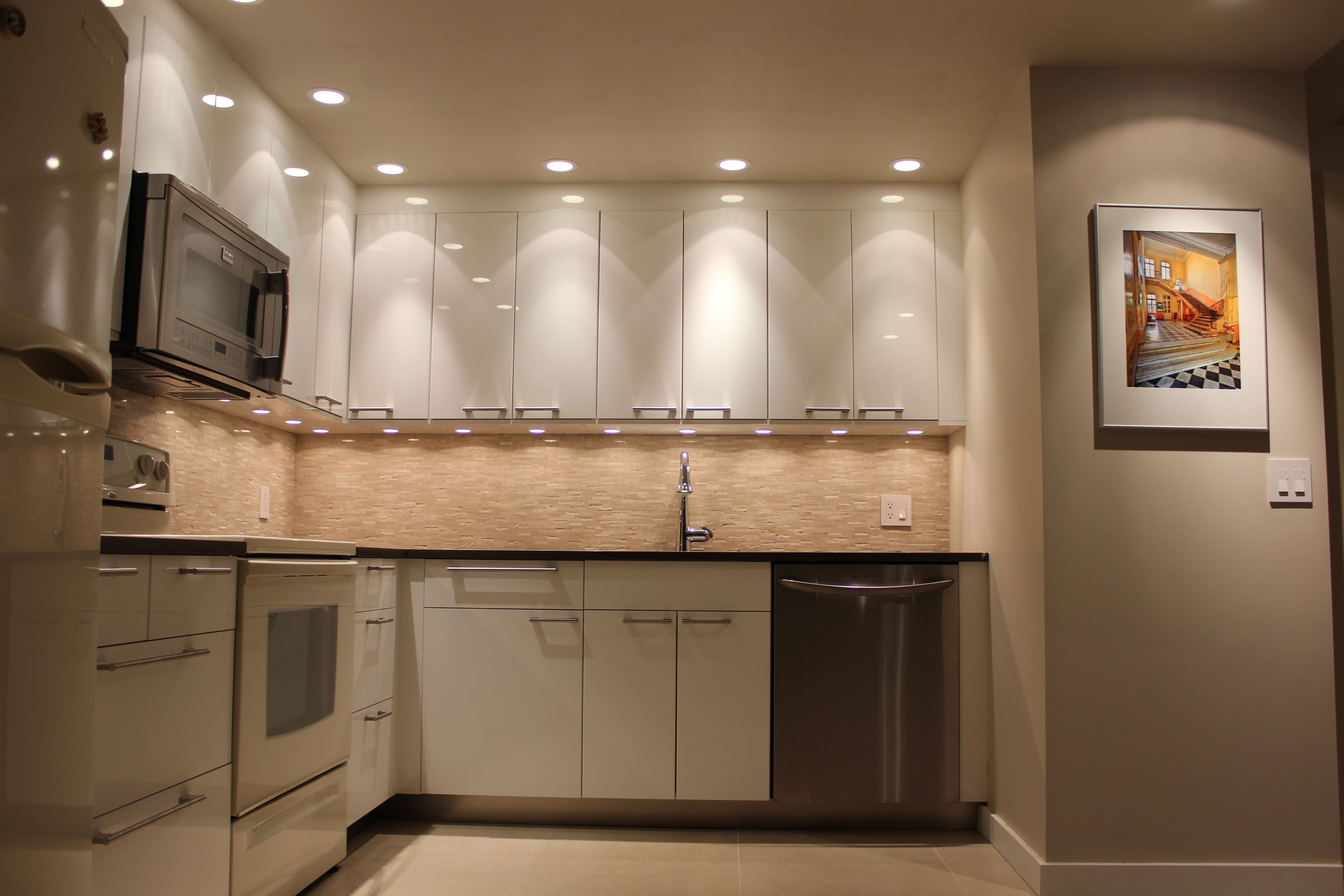 Home improvement, gloss white cabinet doors, drawers