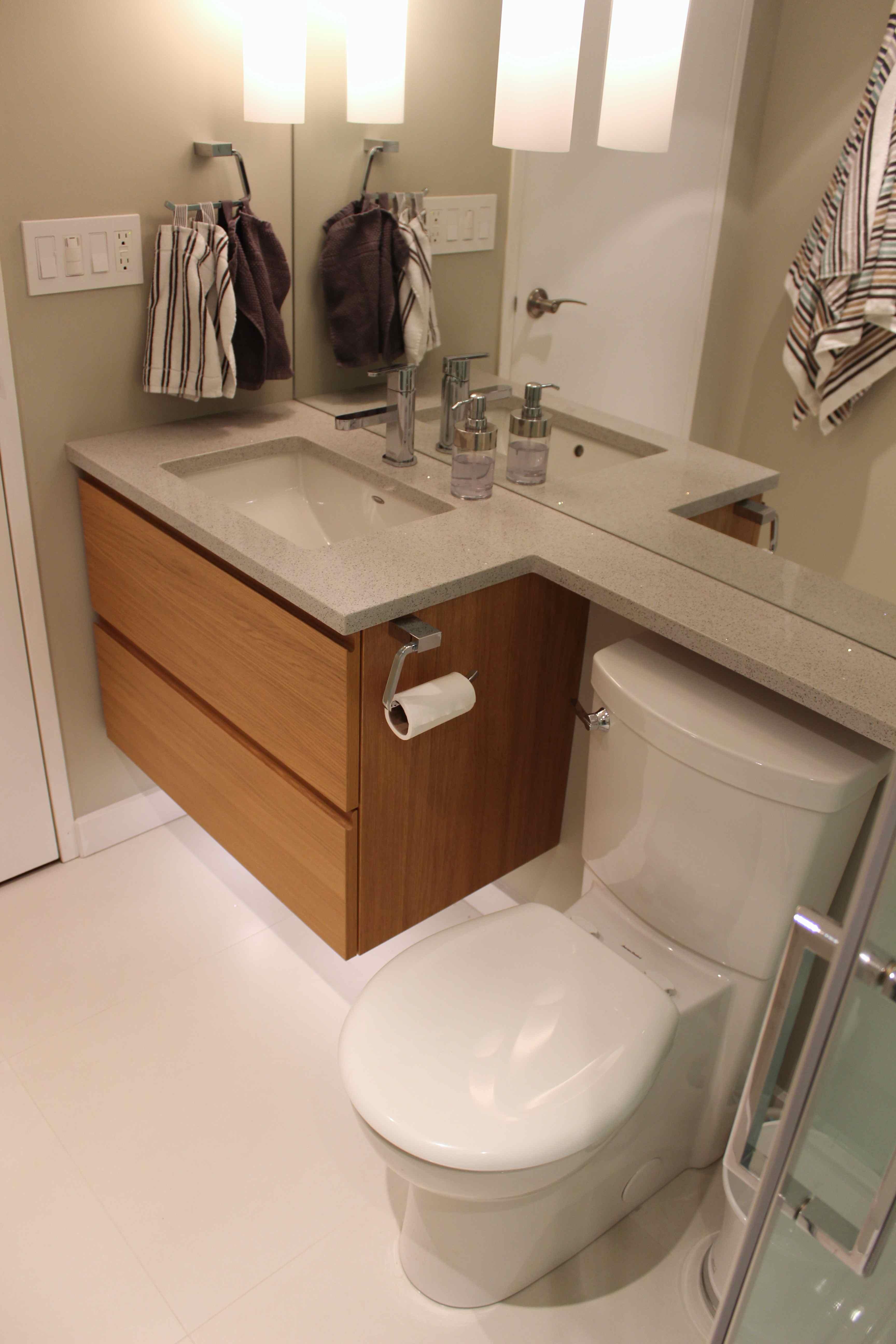 Condo Bathroom Reno (left)