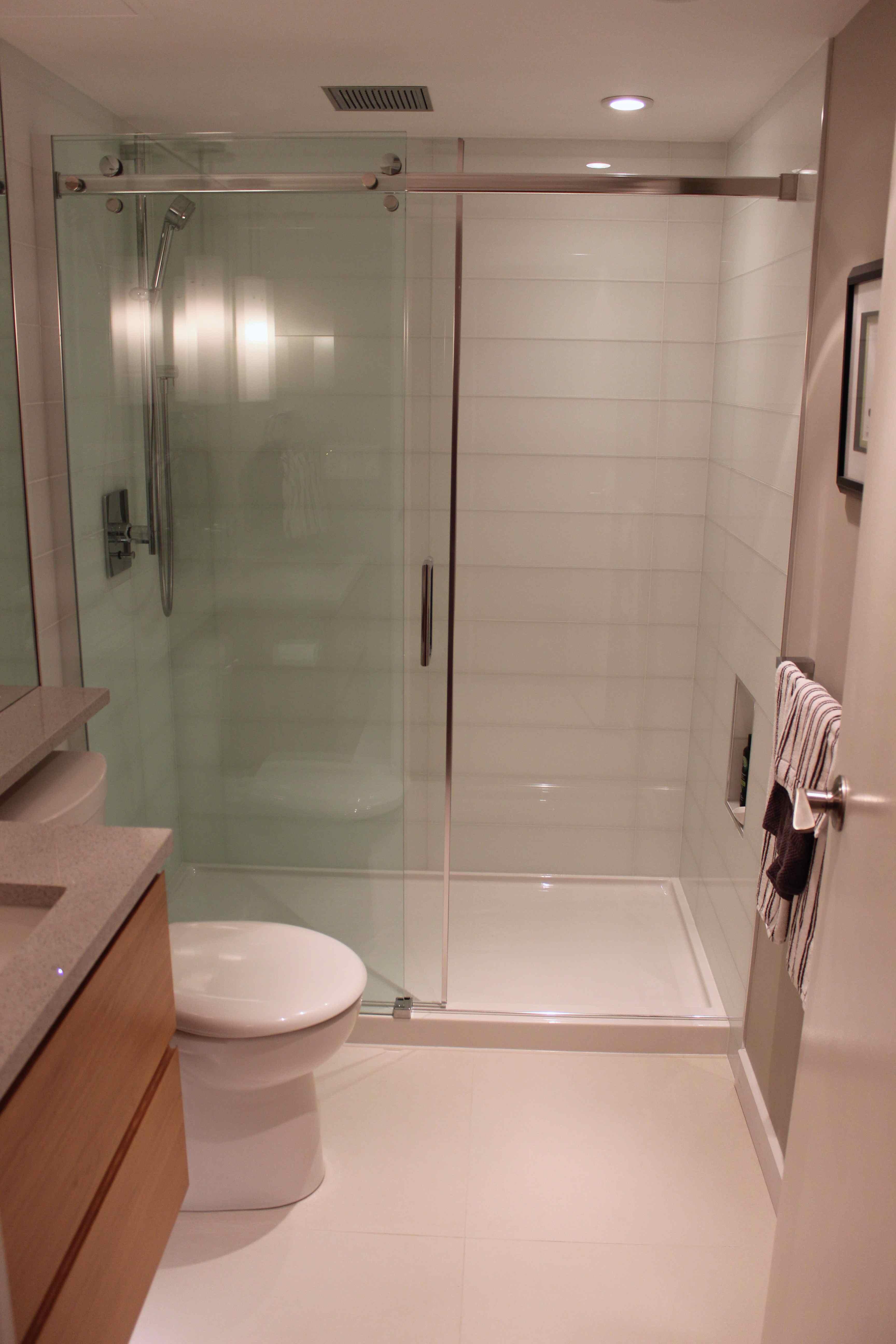 bathroom upgrade - M&D's guest bathroom shower pic
