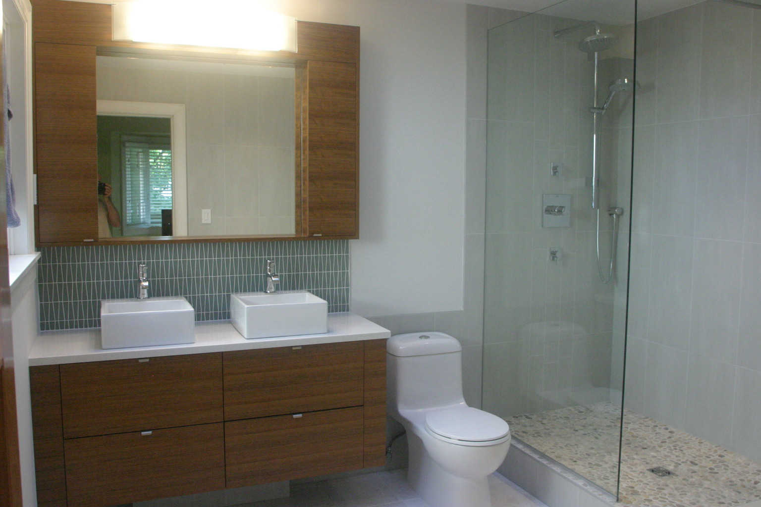 Spa Bathroom Remodel – creating luxury retreats for our clients.