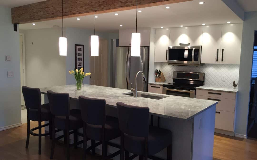 Port Moody kitchen remodel- An open family space