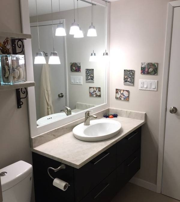 Small Bathroom Renovation in Vancouver