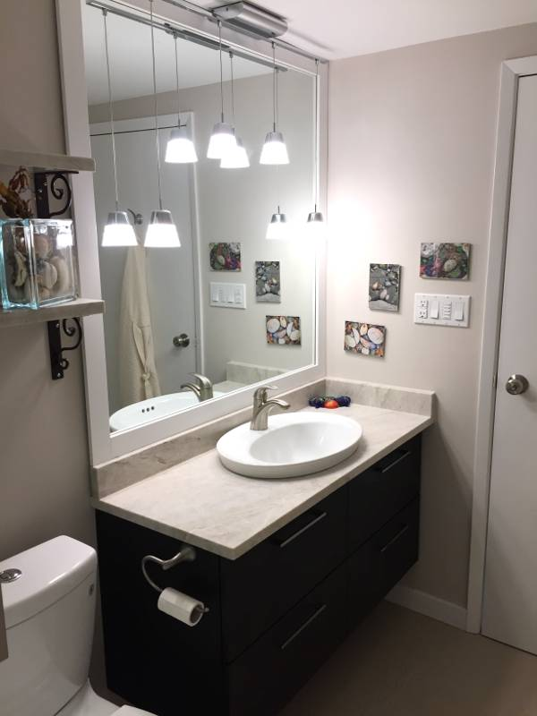 Small Bathroom Renovation In Vancouver SKG RENOVATIONS - Building a new bathroom