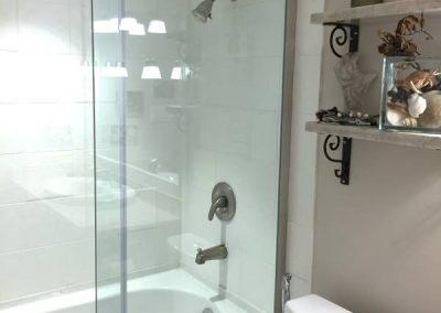 Small bathroom renovation - Pari's-bathroom-vanity-shower-right-600W-70